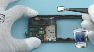 Как разобрать телефон Nokia C7-00 (40)