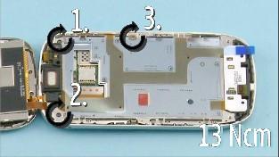 Как разобрать телефон Nokia C7-00 (79)