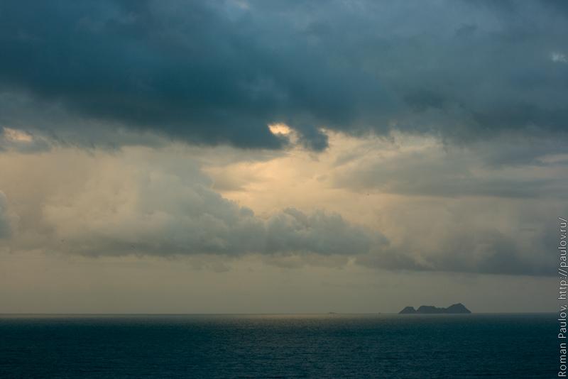 Облака Самуи Таиланд