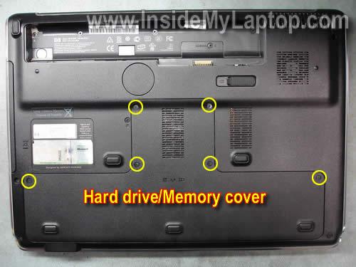 Как разобрать ноутбук HP Pavilion dv7 (2)
