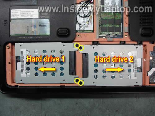 Как разобрать ноутбук HP Pavilion dv7 (3)