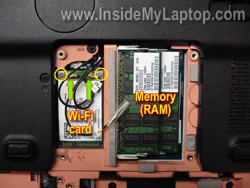 Как разобрать ноутбук HP Pavilion dv7 (4)