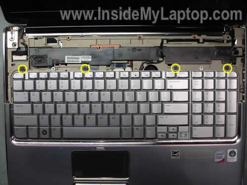 Как разобрать ноутбук HP Pavilion dv7 (12)