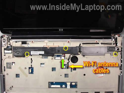 Как разобрать ноутбук HP Pavilion dv7 (16)