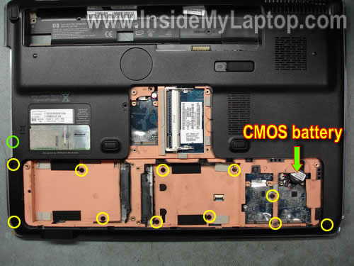Как разобрать ноутбук HP Pavilion dv7 (20)