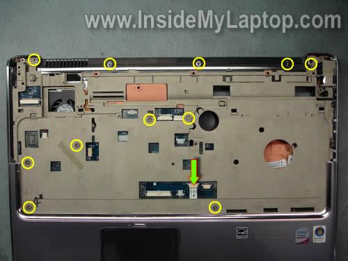 Как разобрать ноутбук HP Pavilion dv7 (21)