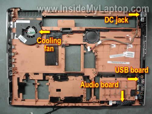 Как разобрать ноутбук HP Pavilion dv7 (29)