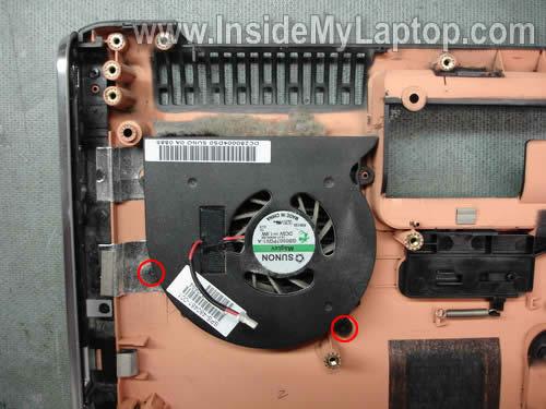 Как разобрать ноутбук HP Pavilion dv7 (30)