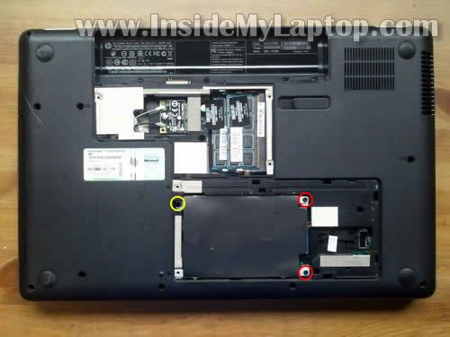 Как разобрать ноутбук HP G62 или Compaq Presario CQ62 (3)