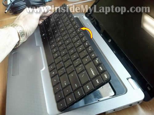 Как разобрать ноутбук HP G62 или Compaq Presario CQ62 (9)