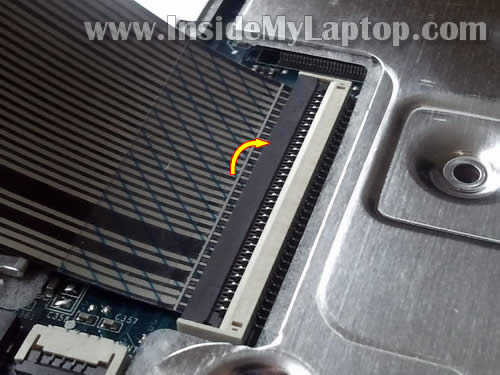 Как разобрать ноутбук HP G62 или Compaq Presario CQ62 (11)