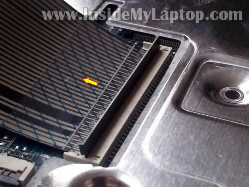 Как разобрать ноутбук HP G62 или Compaq Presario CQ62 (12)