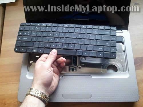 Как разобрать ноутбук HP G62 или Compaq Presario CQ62 (13)