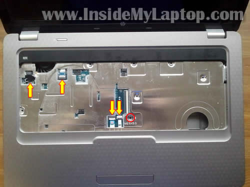 Как разобрать ноутбук HP G62 или Compaq Presario CQ62 (15)