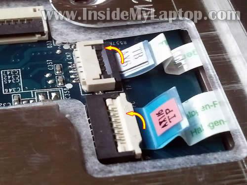 Как разобрать ноутбук HP G62 или Compaq Presario CQ62 (16)