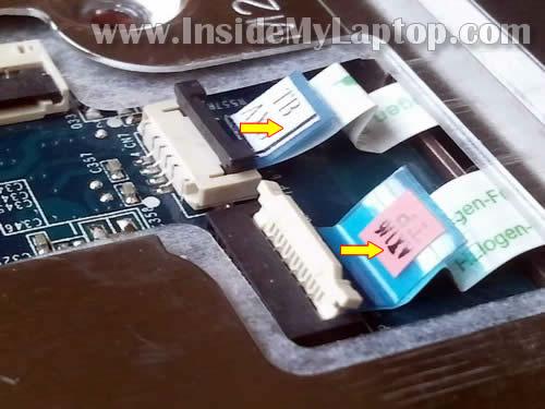 Как разобрать ноутбук HP G62 или Compaq Presario CQ62 (17)