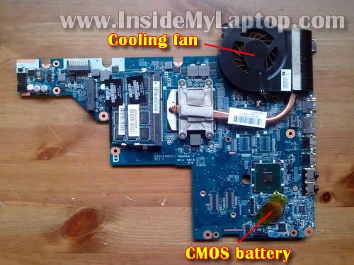 Как разобрать ноутбук HP G62 или Compaq Presario CQ62 (26)