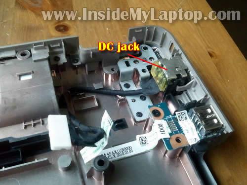 Как разобрать ноутбук HP G62 или Compaq Presario CQ62 (27)