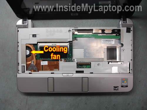 Как разобрать нетбук HP 2133
