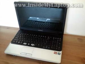 Как заменить клавиатуру на ноутбуке Compaq Presario CQ61 или HP G61