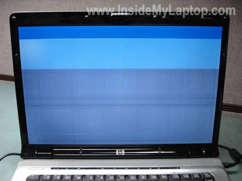 Как заменить экран и инвертор на ноутбуке HP Pavilion dv6000 (1)