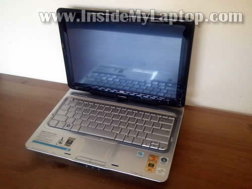 Как разобрать планшетный ноутбук HP Pavilion tx2000