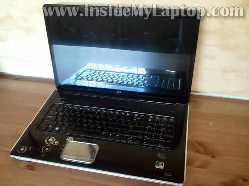 Как разобрать ноутбук HP Pavilion dv8