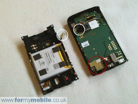 Как разобрать телефон Sony Ericsson Xperia X10 Mini (6)