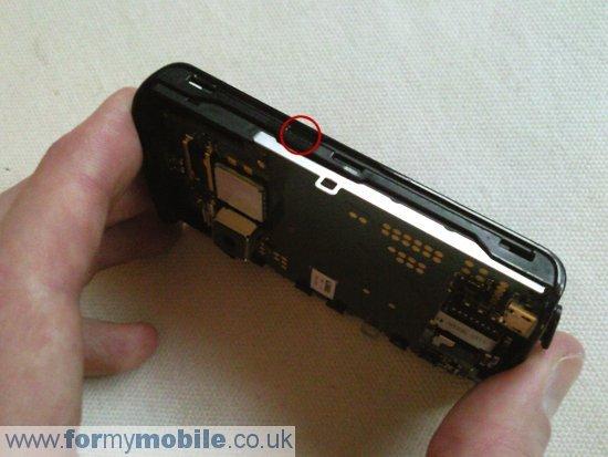 Как разобрать телефон Sony Ericsson Xperia X10 Mini (7)