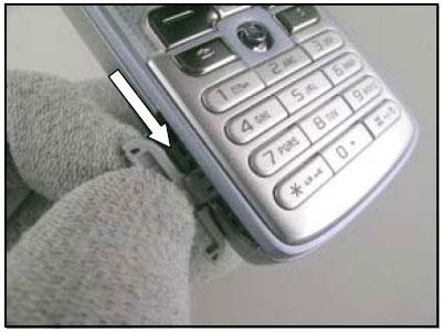 Как разобрать телефон Sony Ericsson D750i/K758c/W800/W700 (101)