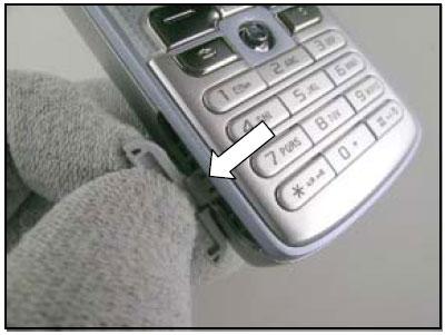 Как разобрать телефон Sony Ericsson D750i/K758c/W800/W700 (2)