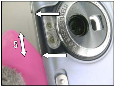 Как разобрать телефон Sony Ericsson D750i/K758c/W800/W700 (13)