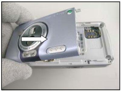 Как собрать телефон Sony Ericsson D750i/K758c/W800/W700 после замены деталей (91)