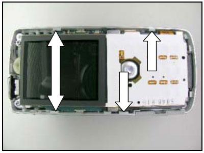 Как разобрать телефон Sony Ericsson D750i/K758c/W800/W700 (19)