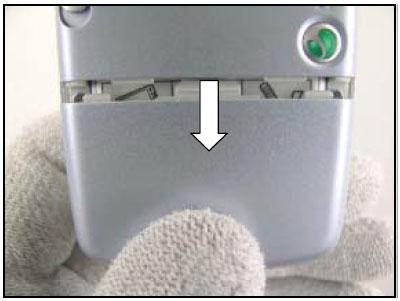 Как разобрать телефон Sony Ericsson D750i/K758c/W800/W700 (3)