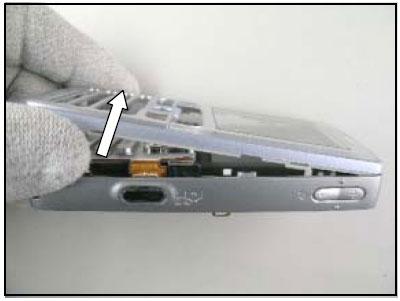 Как разобрать телефон Sony Ericsson D750i/K758c/W800/W700 (23)