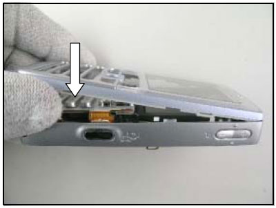 Как собрать телефон Sony Ericsson D750i/K758c/W800/W700 после замены деталей (80)