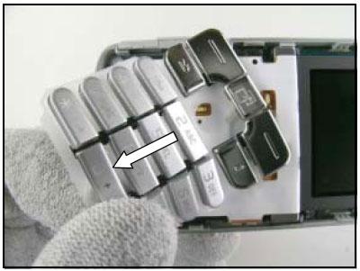 Как разобрать телефон Sony Ericsson D750i/K758c/W800/W700 (29)