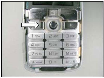 Как собрать телефон Sony Ericsson D750i/K758c/W800/W700 после замены деталей (76)