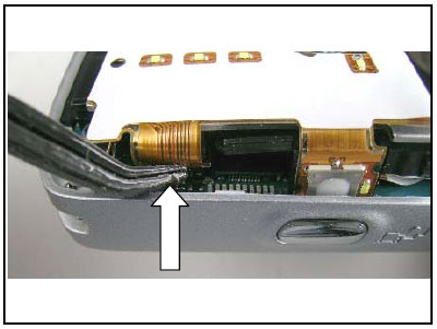 Как разобрать телефон Sony Ericsson D750i/K758c/W800/W700 (33)