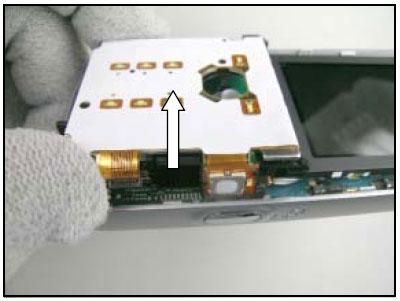 Как разобрать телефон Sony Ericsson D750i/K758c/W800/W700 (34)