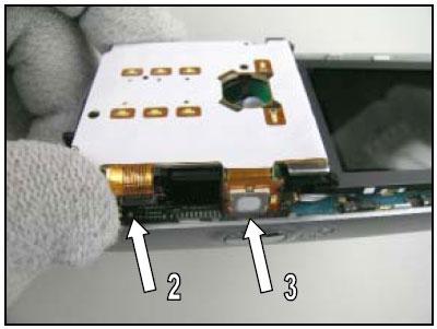 Как собрать телефон Sony Ericsson D750i/K758c/W800/W700 после замены деталей (69)
