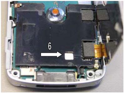 Как собрать телефон Sony Ericsson D750i/K758c/W800/W700 после замены деталей (67)