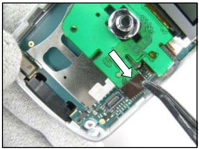 Как разобрать телефон Sony Ericsson D750i/K758c/W800/W700 (42)