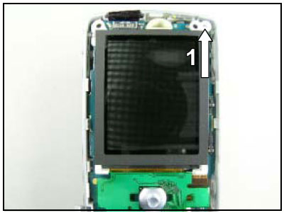 Как собрать телефон Sony Ericsson D750i/K758c/W800/W700 после замены деталей (61)