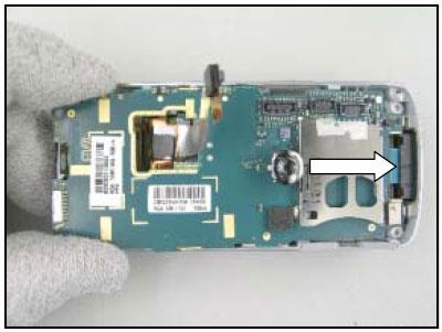 Как собрать телефон Sony Ericsson D750i/K758c/W800/W700 после замены деталей (50)