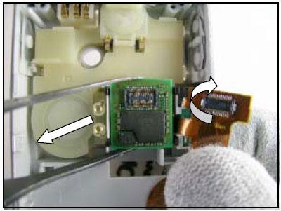 Как собрать телефон Sony Ericsson D750i/K758c/W800/W700 после замены деталей (47)