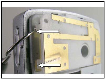 Как разобрать телефон Sony Ericsson D750i/K758c/W800/W700 (60)