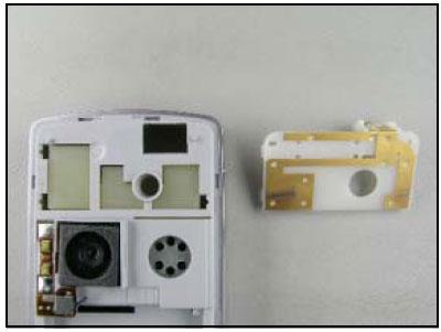 Как собрать телефон Sony Ericsson D750i/K758c/W800/W700 после замены деталей (43)