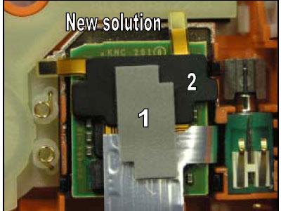 Как разобрать телефон Sony Ericsson D750i/K758c/W800/W700 (86)